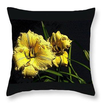 Flower Art03 Throw Pillow