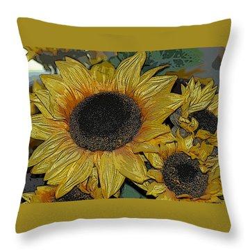 Flower Art04 Throw Pillow
