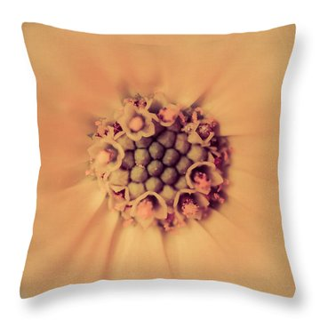 Flower Beauty IIi Throw Pillow by Marco Oliveira