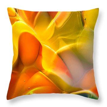 Flower Child Throw Pillow by Omaste Witkowski