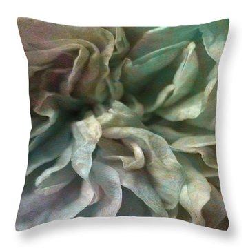 Flower Dance - Abstract Art Throw Pillow by Jaison Cianelli