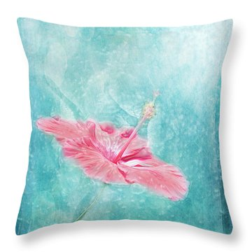 Flower Dancer Throw Pillow