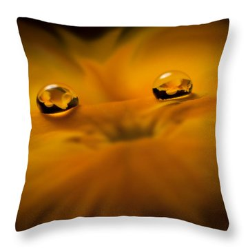Flower Fairy Throw Pillow by Ivelina G