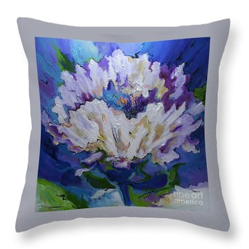 Flower For A Friend Throw Pillow