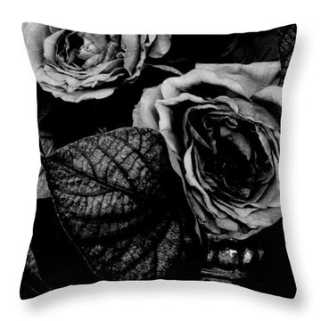 Flower Is Woman Throw Pillow