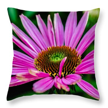 Flower Macro 3 Throw Pillow