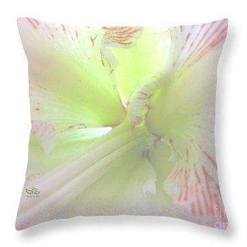 Flower Of Light Throw Pillow
