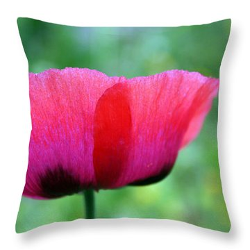 Flower Of Remembrance Throw Pillow by Martina  Rathgens