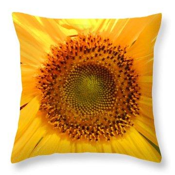 Flower Of The Sun Throw Pillow