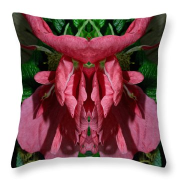 Throw Pillow featuring the photograph Flower Of Venus 4 by WB Johnston