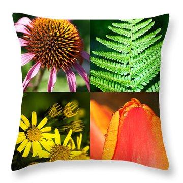 Flower Photo 4 Way Throw Pillow by Richard Thomas