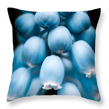 Flower Pods Throw Pillow by Shane Holsclaw