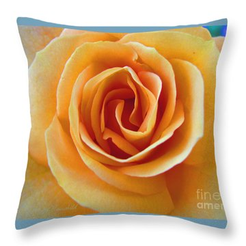 Throw Pillow featuring the photograph Flower Power by Brooks Garten Hauschild