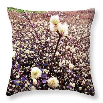 Flower Sea Throw Pillow