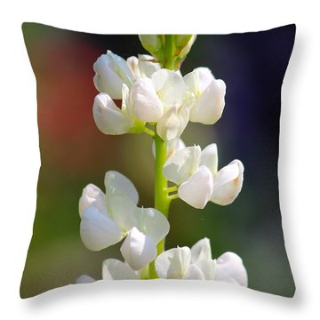 Flower Throw Pillow by Tiffany Erdman