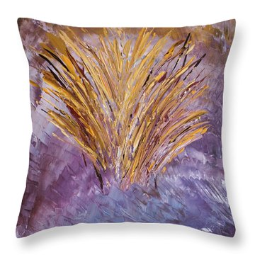 Flowering Nebula Throw Pillow