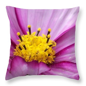 Flowers For The Wall Throw Pillow