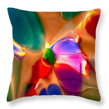 Flowers In The Attic Throw Pillow by Omaste Witkowski
