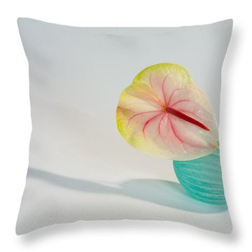 Flowers In Vases2 Throw Pillow
