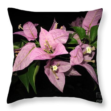 Flowers Island Lembongan Throw Pillow by Sergey Lukashin