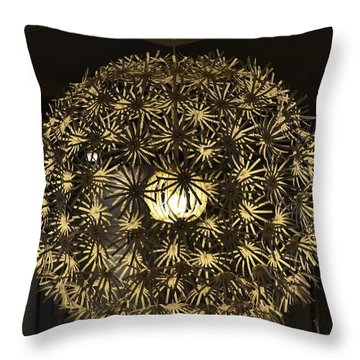 Throw Pillow featuring the photograph Flowers Of Light by Mary Zeman
