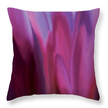 Flowery 1 Throw Pillow