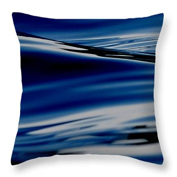 Flowing Movement Throw Pillow