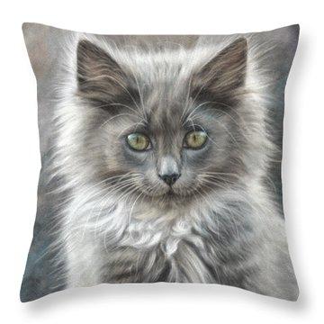 Fluffy One Throw Pillow