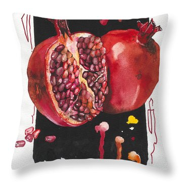 Fluidity 8 - Elena Yakubovich Throw Pillow