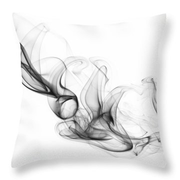 Fluidity No. 2 Throw Pillow
