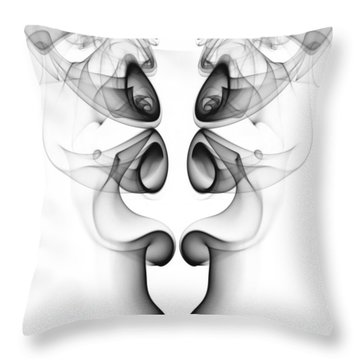 Fluidity No. 3 Throw Pillow