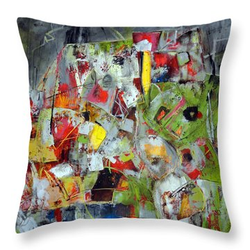 Flux Throw Pillow