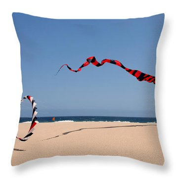 Fly A Kite - Old Hobby Reborn Throw Pillow