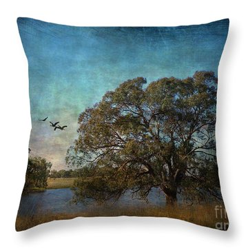 Fly Away ... Throw Pillow