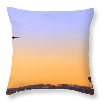 Fly Away Throw Pillow by Olivier Le Queinec
