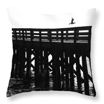 Throw Pillow featuring the photograph Fly Away by Sonya Lang