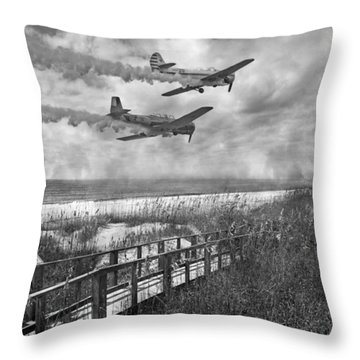 Fly Because You Love It Throw Pillow