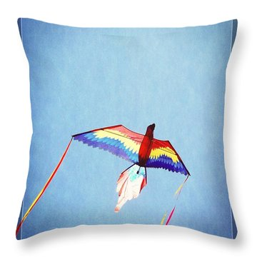 Fly Free Throw Pillow by Jamie Johnson