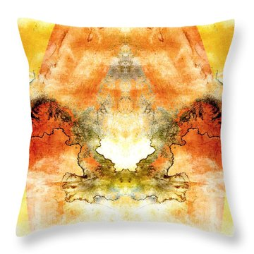 Fly To The Sun Throw Pillow