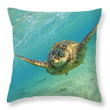 Flybye Throw Pillow