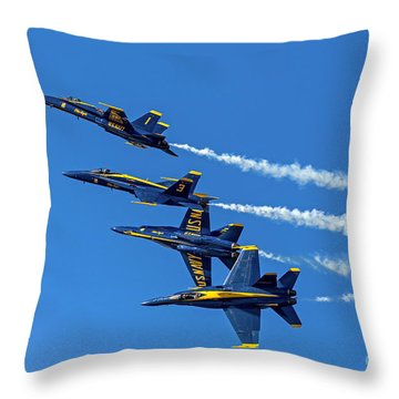 Flying Formation Throw Pillow