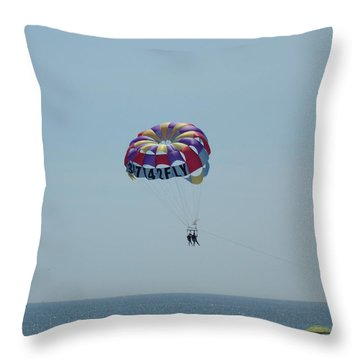 Flying High Throw Pillow