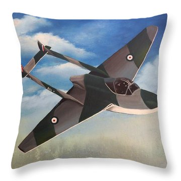 Flying High Throw Pillow by Sheri Keith