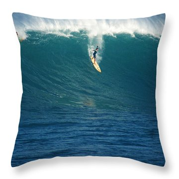 Flying Machine Throw Pillow by Kevin Smith