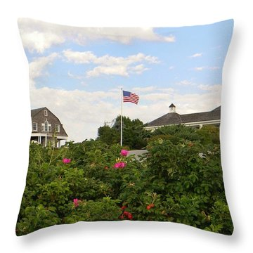 Flying Proud Throw Pillow by Jean Goodwin Brooks