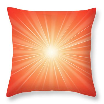 Focus For Meditation 2 Throw Pillow by Philip Ralley