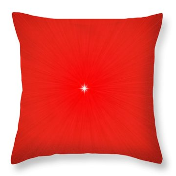 Focus For Meditation Throw Pillow by Philip Ralley