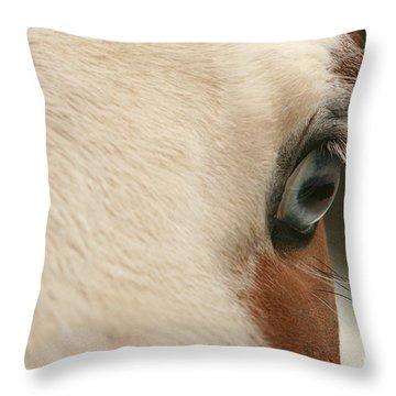 Focus Front Throw Pillow