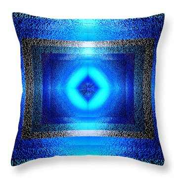 Throw Pillow featuring the photograph Contemporary Artwork by Kellice Swaggerty