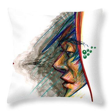 Focusing The Attention Throw Pillow